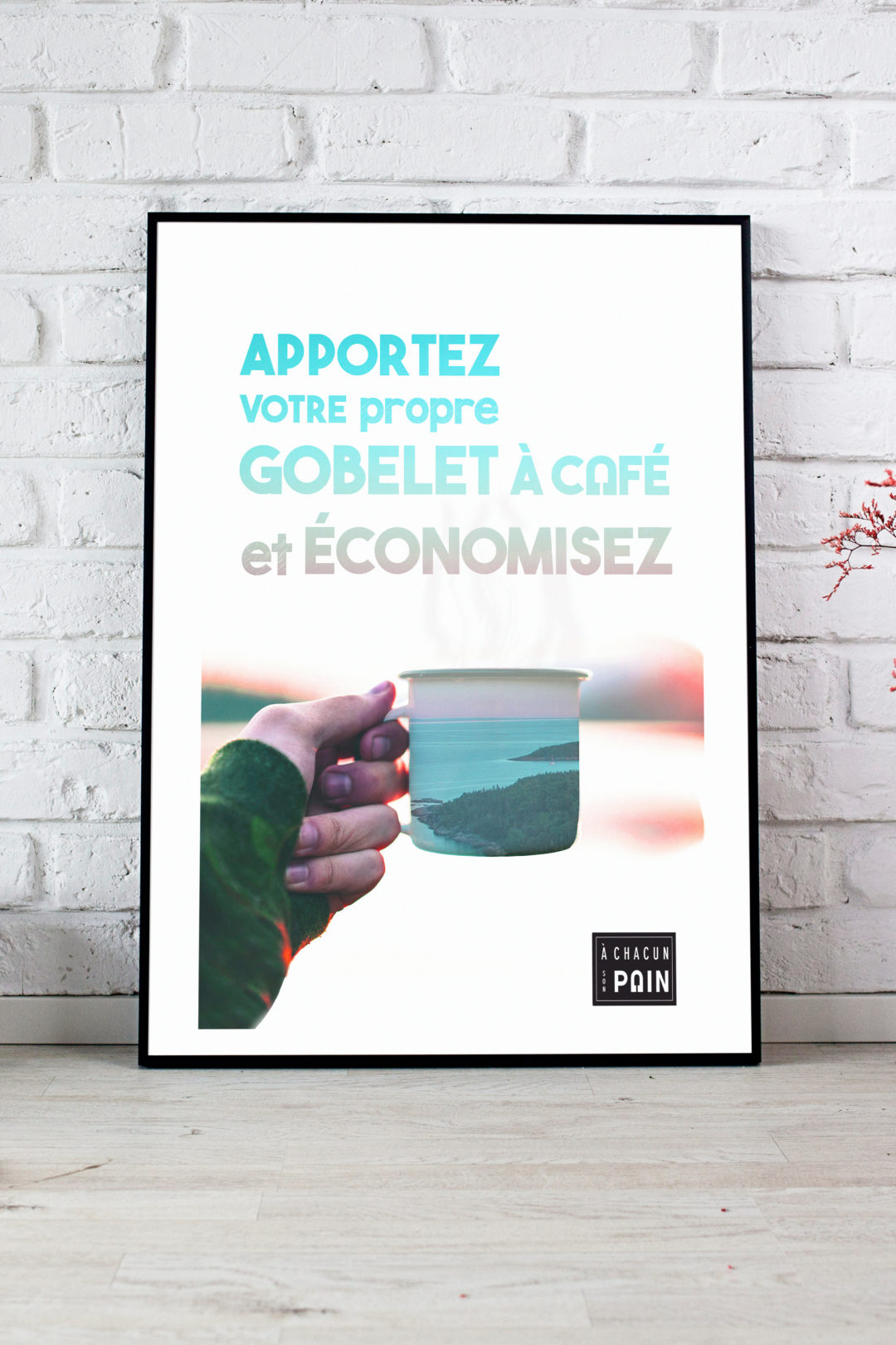 À Chacun Son Pain -Advertising Poster
