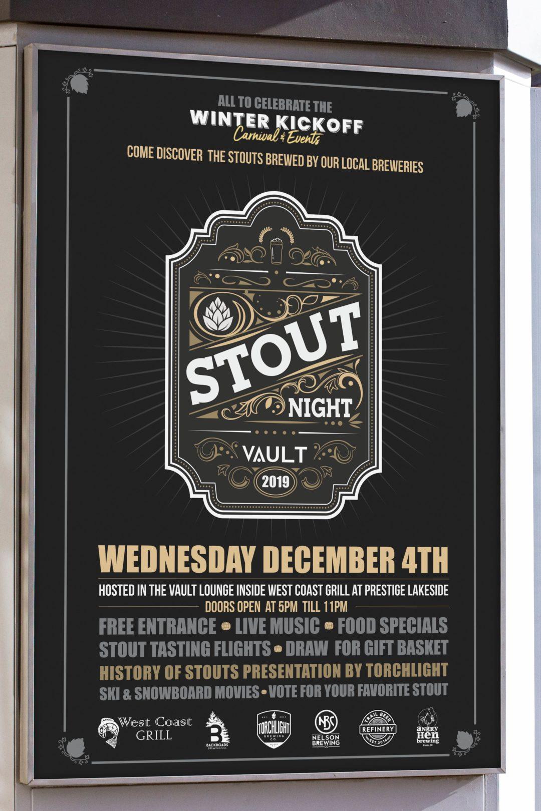 Vault Lounge- Stout Night